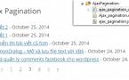 Ajax Pagination – Phân trang bằng ajax cho wordpress sử dụng shortcode