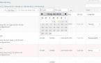 Giao diện trang danh sách đơn hàng trong admin