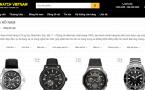 Bộ lọc website bán đồng hồ
